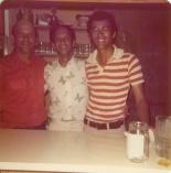 Chook, Johnny and Darrell Maxwell